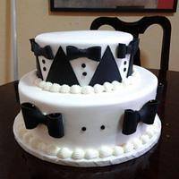 Tuxedo cake by Rosa