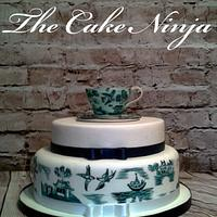 China Hand Painted Cake