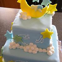 Boy Baby shower cake by Blairscustomcakes