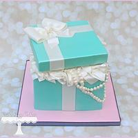 Tiffany Box Cake + Smash Cake
