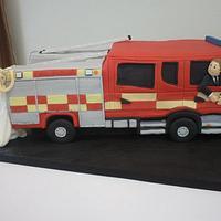Wedding Fire Engine