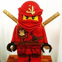 Lego Ninjajo cake