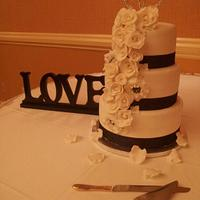Love Wedding Cake by Stephanie Towner