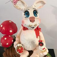 Conejo para la Expo cupcakes
