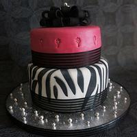 My daughters 17th Birthday Cake