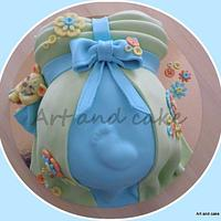My first Belly cake..