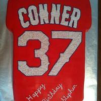 Texas Ranger Baseball Jersey