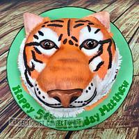 Matthew - Tiger Birthday Cake