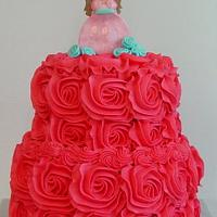 Princess Ella Rose Cake