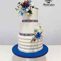 Folk weddig cake