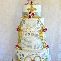 French Vintage Travel Cake