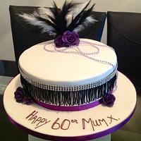 1920s theme cake