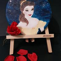 Belle on a cookie