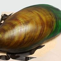 New Zealand Green Lipped Mussel 3D Cake 20""