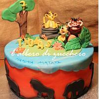 Lion King by L'albero di zucchero