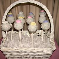 Simple Elegant Cake Pops