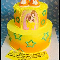 Cinderella sunshine cake