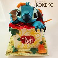 Stitch 3D Cake