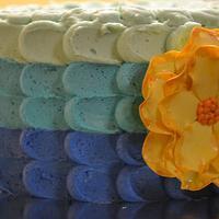 Easter Petal  Cake