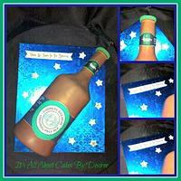 Coopers Pale Ale Beer Bottle Cake