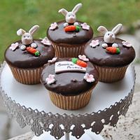 Easter Cupcake by SweetLin