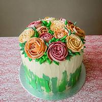 Buttercream bouquet