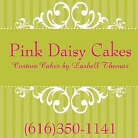 Pink Daisy Cakes