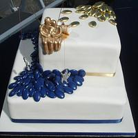 Modernist wedding cake!