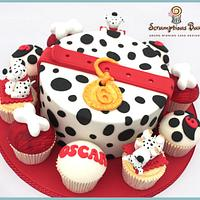 Big Cake Little Cakes : Dalmation Puppies