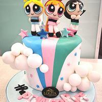The Powerpuff Girls cake