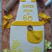 Apron Birthday Cake