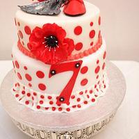 Flamenco Cake