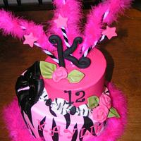 Topsy turvy Diva  by Cake Creations by Christy