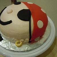 Pirate smash cake by Karen Seeley