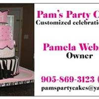 Pams party cakes