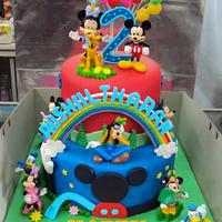Mickey Clubhouse Theme by Letchumi Sekaran