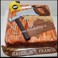 Tools of the Trade Retirement Cake