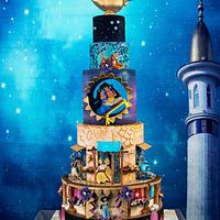 Aladdin luxury cake