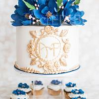 Royally Yours- Wedding  Cake