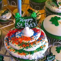 St.Pattys Day Cupcakes