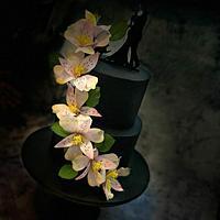 Wafer Paper Alstroemeria