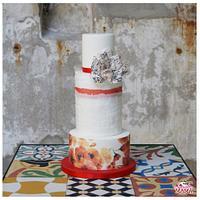Sweet Romance Wedding Cake