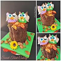 Autumn Celebration Cake
