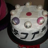 Japanese Inspired Birthday Cake