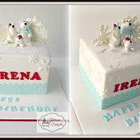 Winter Wonderland (Polar Bear) Cake