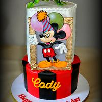 Mickey Mouse Cake for Cody