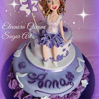 Violetta cake!!!
