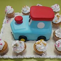 Toy Car Replica in Cream