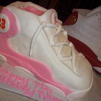 Air Jordan Birthday Cake by cakes by khandra