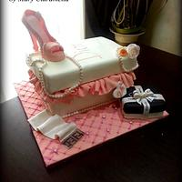 Fashion Cake (Dior, Fendi, Chanel)